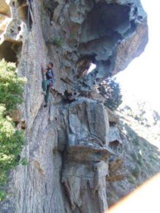 Climbing site Cuccia