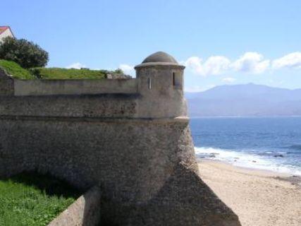 The citadel of Ajaccio