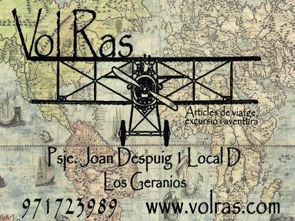 Vol Ras (artículos de viaje, excursión y aventura)