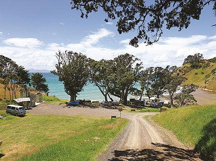 Fletcher Bay DOC Campsite