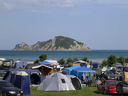 Anaura Bay DOC Campsite