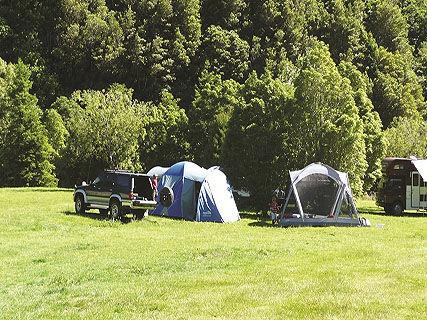 Kiriwhakapapa DOC Campsite