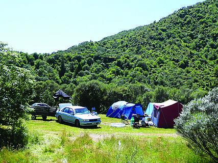 Otaki Forks DOC Campsite