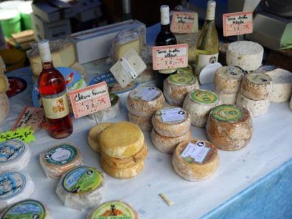 Sunday market in Porto-Vecchio