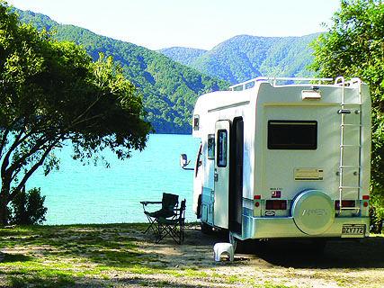 Aussie Bay DOC Campsite