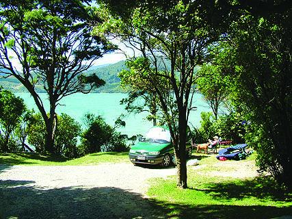 Picnic Bay DOC Campsite