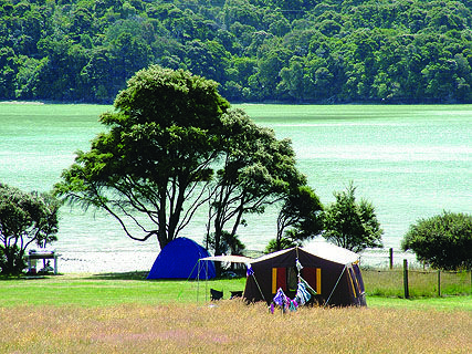 Kenepuru Head DOC Campsite
