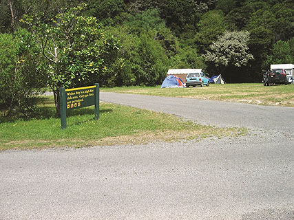 Whites Bay DOC Campsite