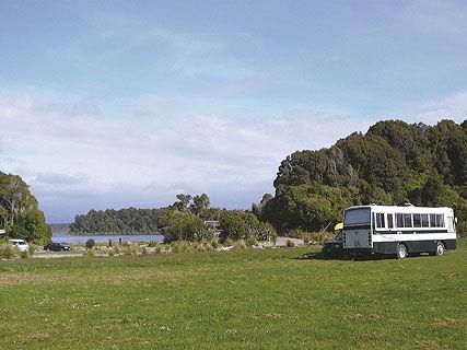 Lake Mahinapua DOC Campsite