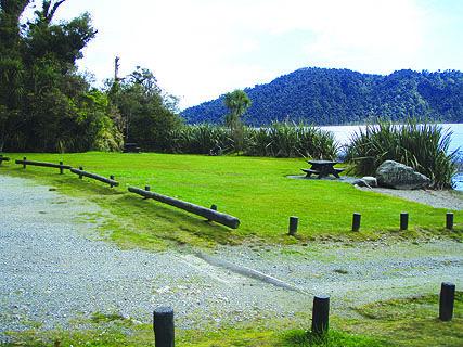 Lake Ianthe Matahi DOC Campsite