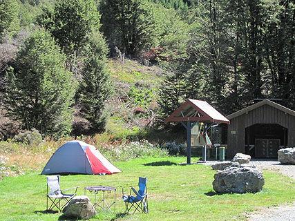 Craigieburn DOC Campsite