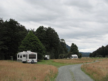 Totara DOC Campsite