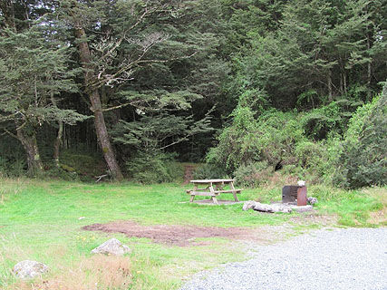 Mackay Creek DOC Campsite