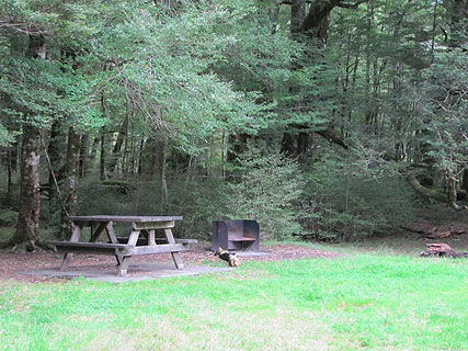 Smithy Creek DOC Campsite