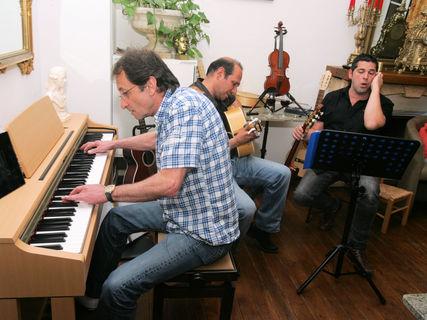 Corsican music evening in Vizzavona