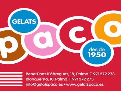 Gelats Paco Blanquerna
