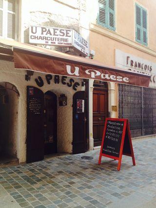 U Paese, au bonheur des amateurs de charcuterie (épicerie fine Corse)