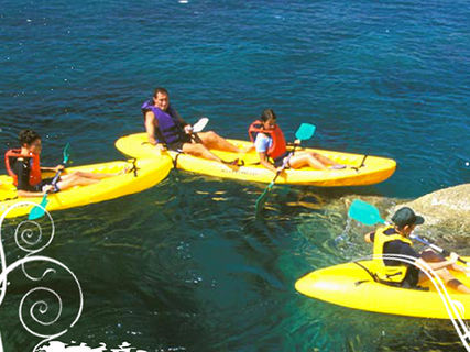 Kayak des mers (Algajola Sports et Nature)
