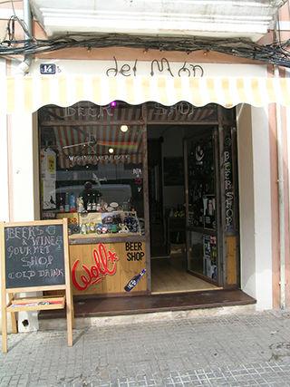Del Món, tienda de cervezas