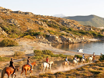 Horse riding: sea & mountain