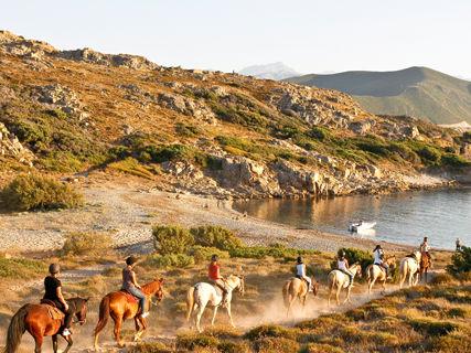 Equitazione: mare e montagna