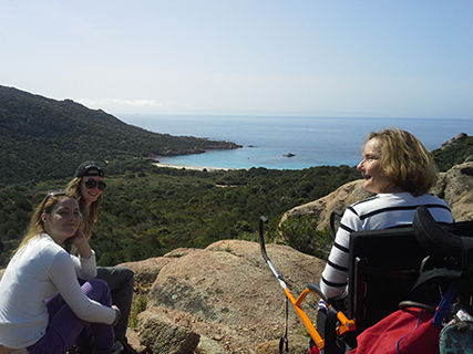 Sailing & Hiking between Cupabia and Scandola