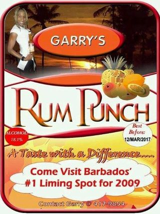 Garry's Rum Punch in Barbados, Barbados with Ratings & Reviews ...