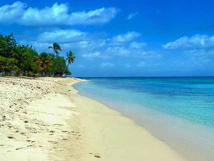 Plage de Saint-Louis ou anse May
