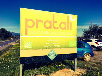 Pratali, fruits & légumes Bio