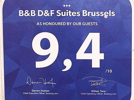 B&B D&F Suites Brussels