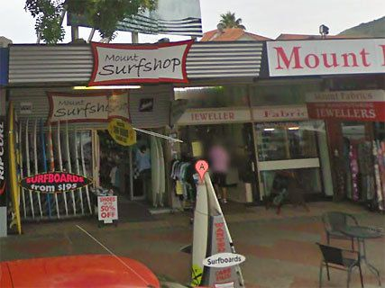 Mount Surf Shop