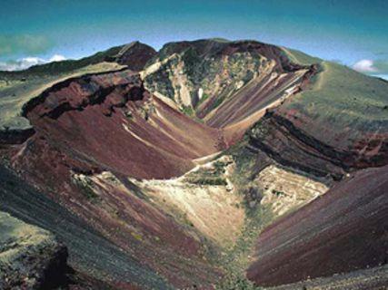 Mt Tarawera NZ