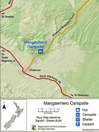 Mangawhero DOC Campsite