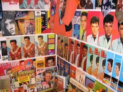 Elvis Presley Memorial Record Room