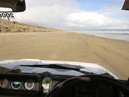 Rouler sur Ninety Mile Beach