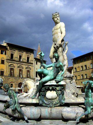 Neptunbrunnen In Florenz Italien Mit Bewertungen