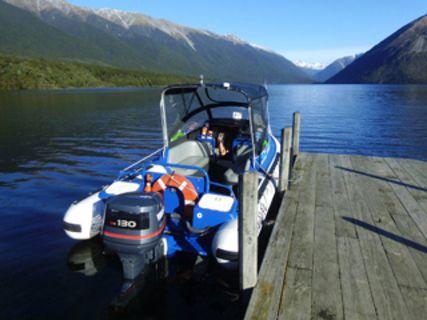 Water taxi de Rotoiti