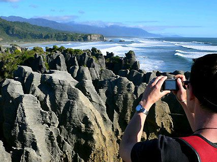 Pancake Rocks de Dolomite Point