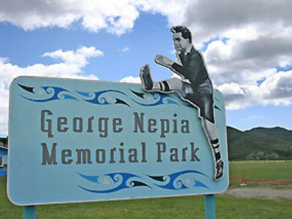 George Nepia Memorial