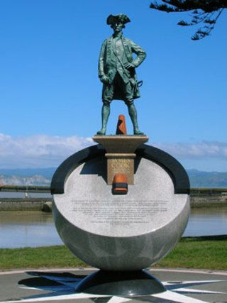 Statue de James Cook