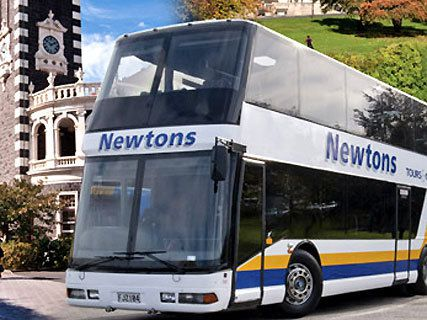 Newtons Double Deck Bus