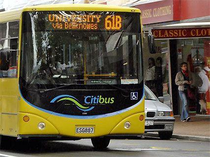 La ligne de bus St Clair-Normanby