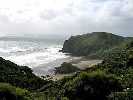 Anawhata Beach Track