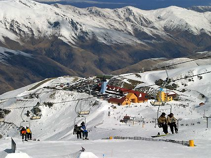 Station ski Cardrona