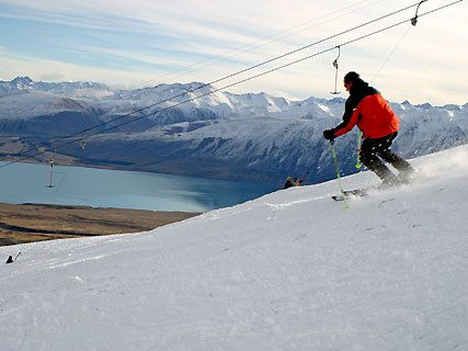 Station ski Treble Cone