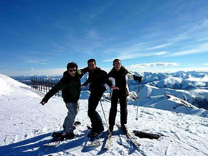Ski à Mt Hutt