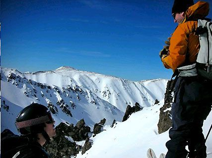 Ski à Mt Olympus
