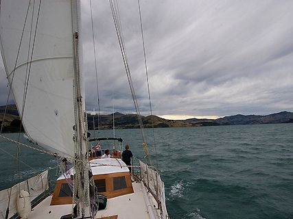 A-class Sailing