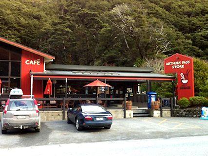 Arthur's Pass Store-Café