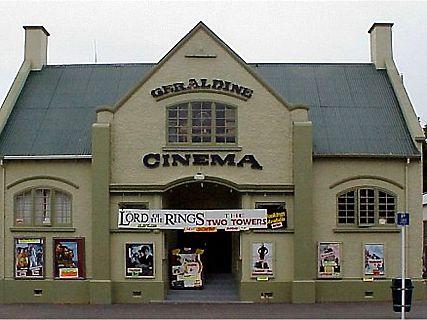 Geraldine Cinema, le cinéma d'antan